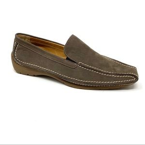 Gabor Stitched Loafer Tan Nubuck